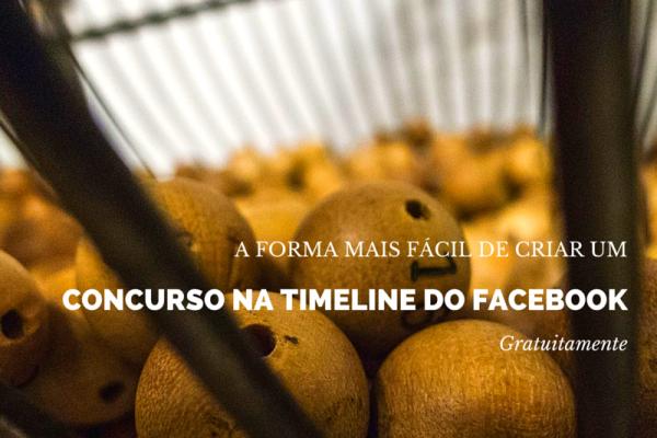 Criar concursos na Timeline do Facebook Gratuitamente