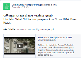 Community Manager Portugal - Off-topic