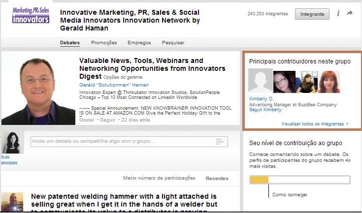 Helena Dias | Grupos no LinkedIn para encontrar clientes