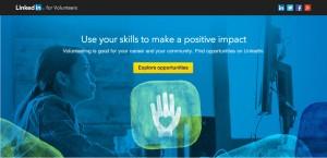 oportunidades de voluntariado | LinkedIn Volunteer Marketplace