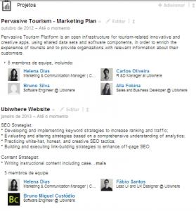 Otimizar o perfil do LinkedIn | Helena Dias | Adicionar Projetos ao perfil do LinkedIn