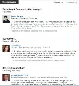 Otimizar o perfil do LinkedIn | Helena Dias | Recomendações no LinkedIn