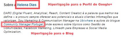 Publicar artigos no LinkedIn | Seção sobre o autor nos artigos