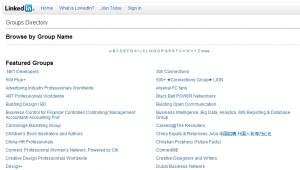 Melhorar a rede de contactos com os Grupos do LinkedIn | Directório de Grupos do LinkedIn