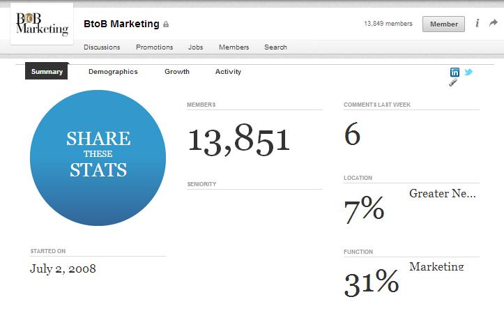 Melhorar a rede de contactos com os Grupos do LinkedIn | Estatísticas dos Grupos do LinkedIn
