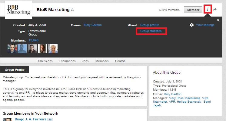 Melhorar a rede de contactos com os Grupos do LinkedIn | Informações sobre os membros dos Grupos do LinkedIn