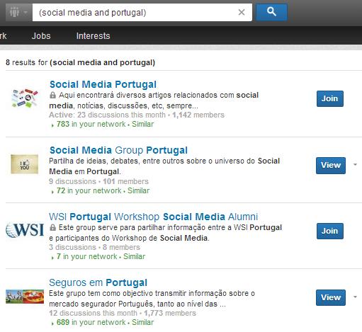 Melhorar a rede de contactos com os Grupos do LinkedIn | Pesquisas Booleanas no LinkedIn