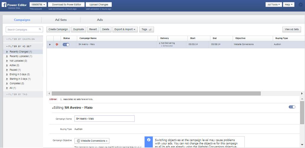 Como criar anúncios no Facebook | Power Editor do Facebook