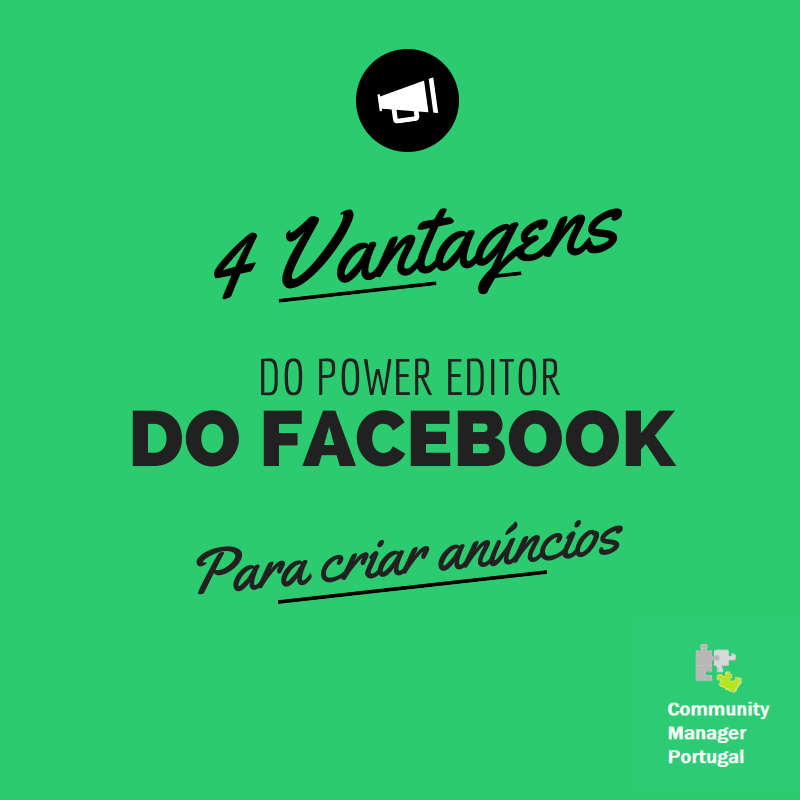 Vantagens do Power Editor do Facebook