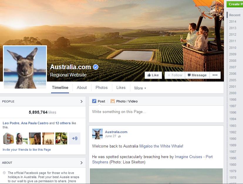 Marketing Digital e Redes Sociais para o Turismo - Facebook para o Turismo