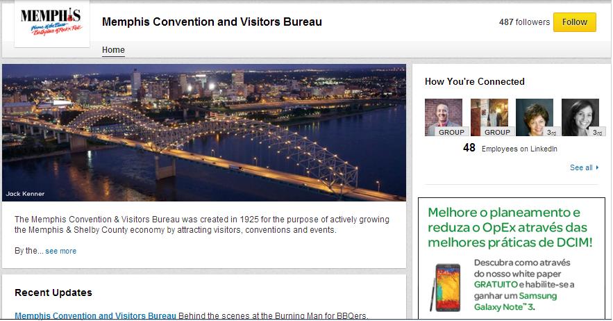 Marketing Digital e Redes Sociais para o Turismo - LinkedIn para Turismo
