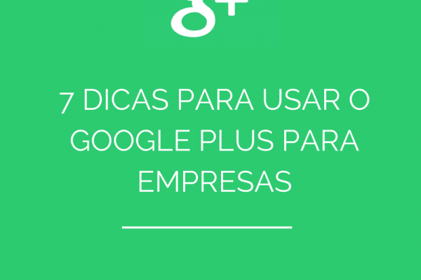 Usar o Google Plus para Empresas
