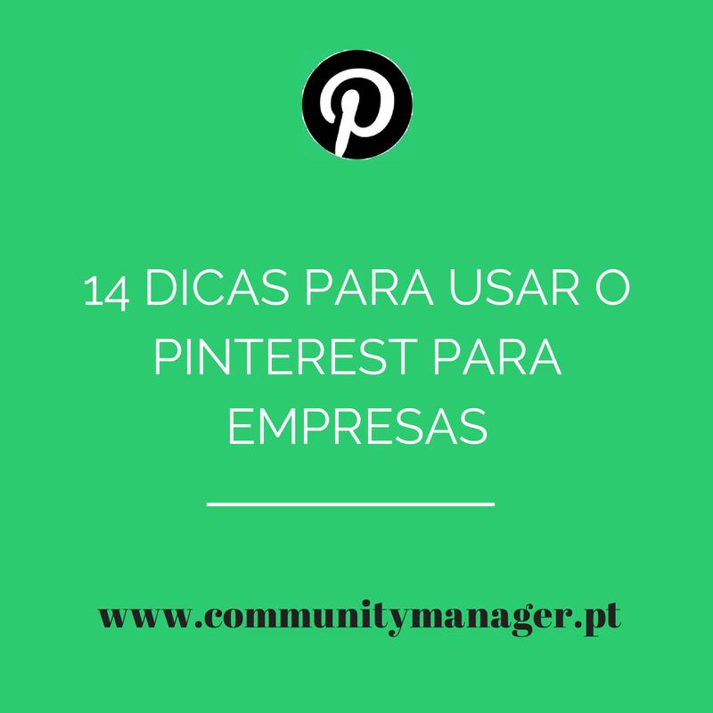 Usar o Pinterest para Empresas