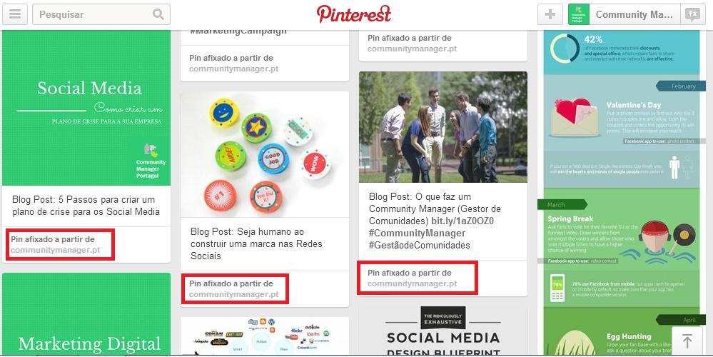 Usar o Pinterest para Empresas | Otimize o Pinterest para os motores de pesquisa