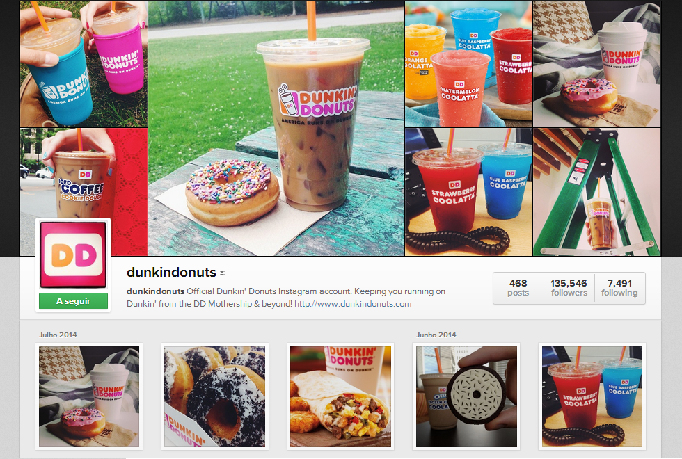 Visual Storytelling - Caso de Estudo Dunkin Donuts