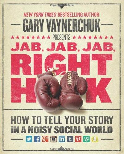 Livros de Marketing e Social Media - Jab, Jab, Jab, Right Hook