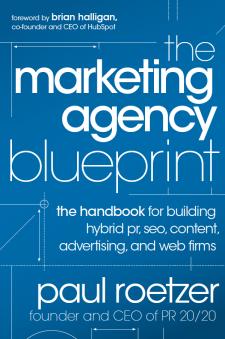 Livros de Marketing e Social Media - The Marketing Agency Blueprint