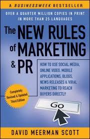 Livros de Marketing e Social Media - The New Rules of Marketing & PR