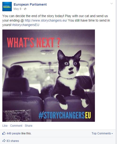 Aumentar a Interação no Facebook - Deixar os fãs decidir o que vem a seguir