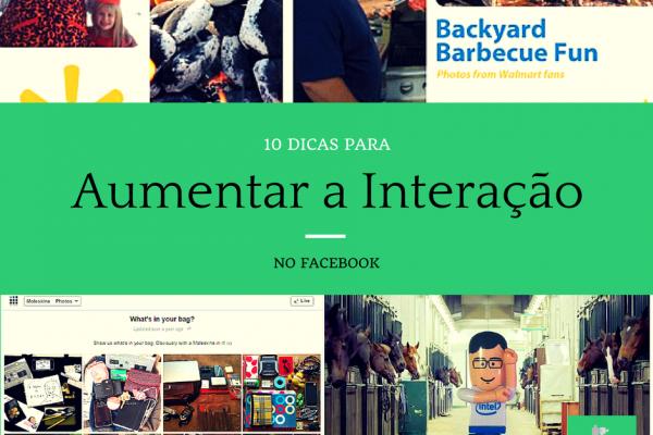 Dicas para Aumentar a Interação no Facebook