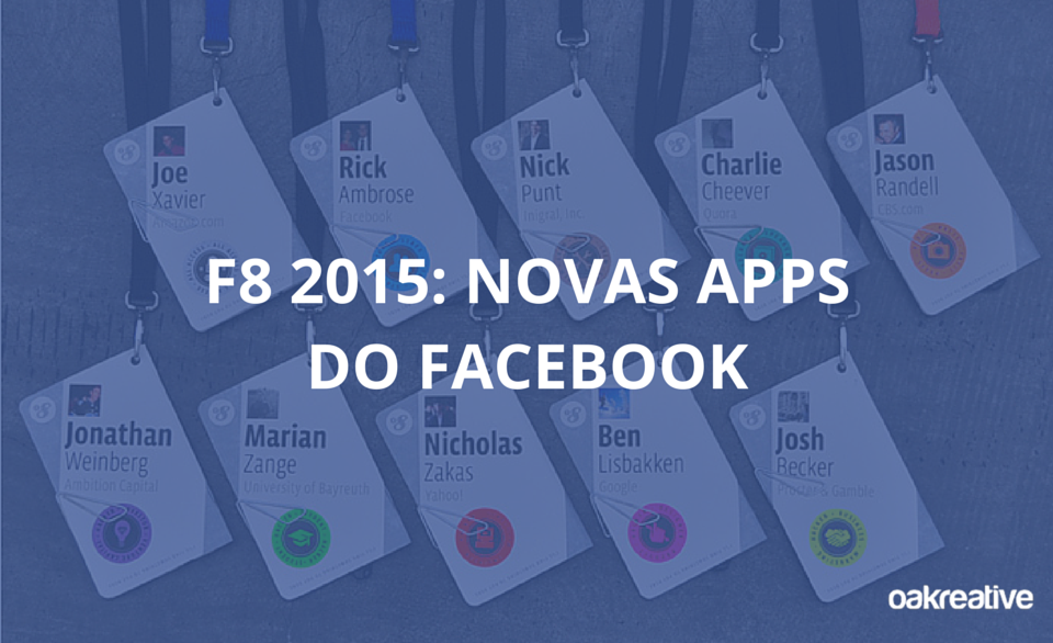F8 2015 - Novas-Apps-do-Facebook