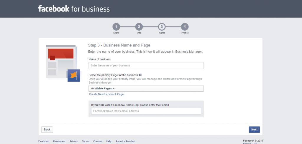 Inscrição no Facebook Business Manager1