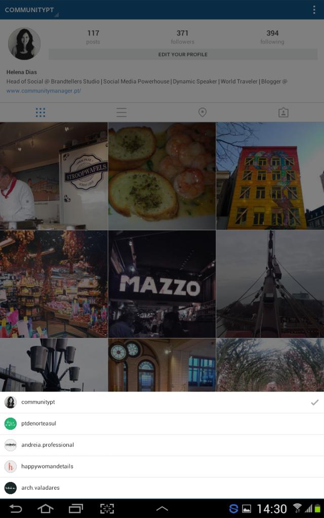 Como Adicionar e Gerir Múltiplas Contas no Instagram