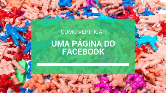 Como verificar uma página do Facebook