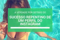 Louise Delage Sucesso no Instagram