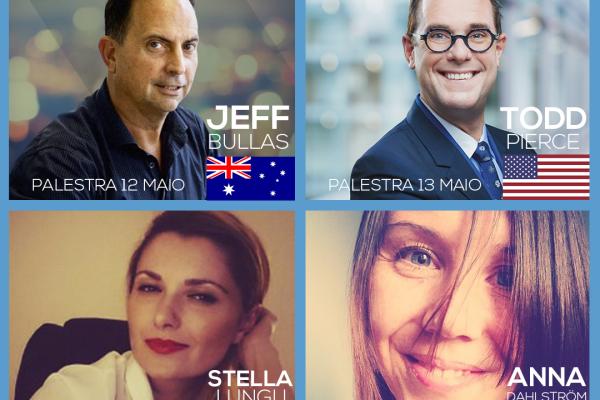 4 oradores em conjunto CLICKSUMMIT 2017