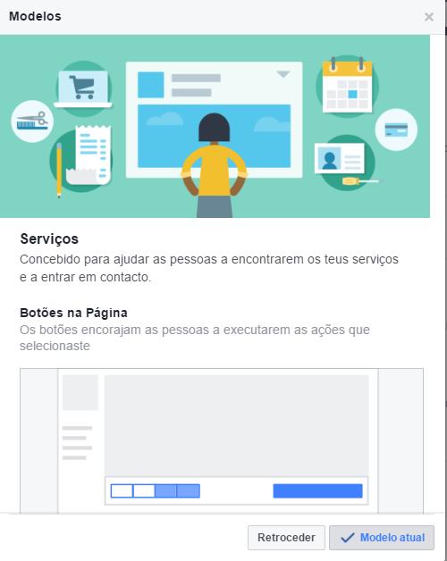 Modelos de Páginas de Facebook