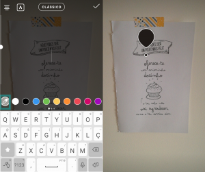 Como usar o Instagram Stories como um Pro - Personalizar o texto das Instagram Stories