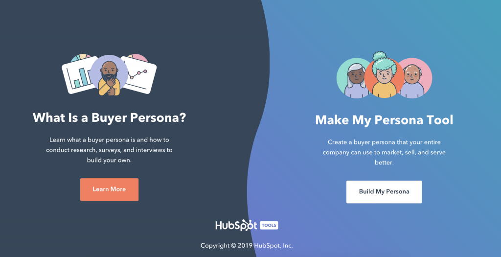 Make My Persona da Hubspot