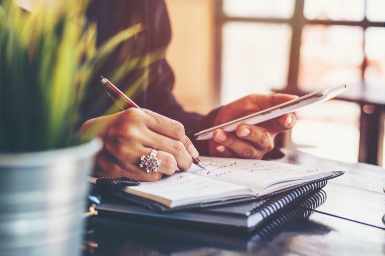 Checklist de tarefas diárias por rede social